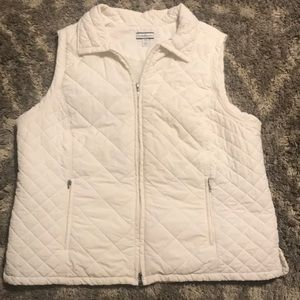 Croft & Barrow Quilted Vest Size 1X